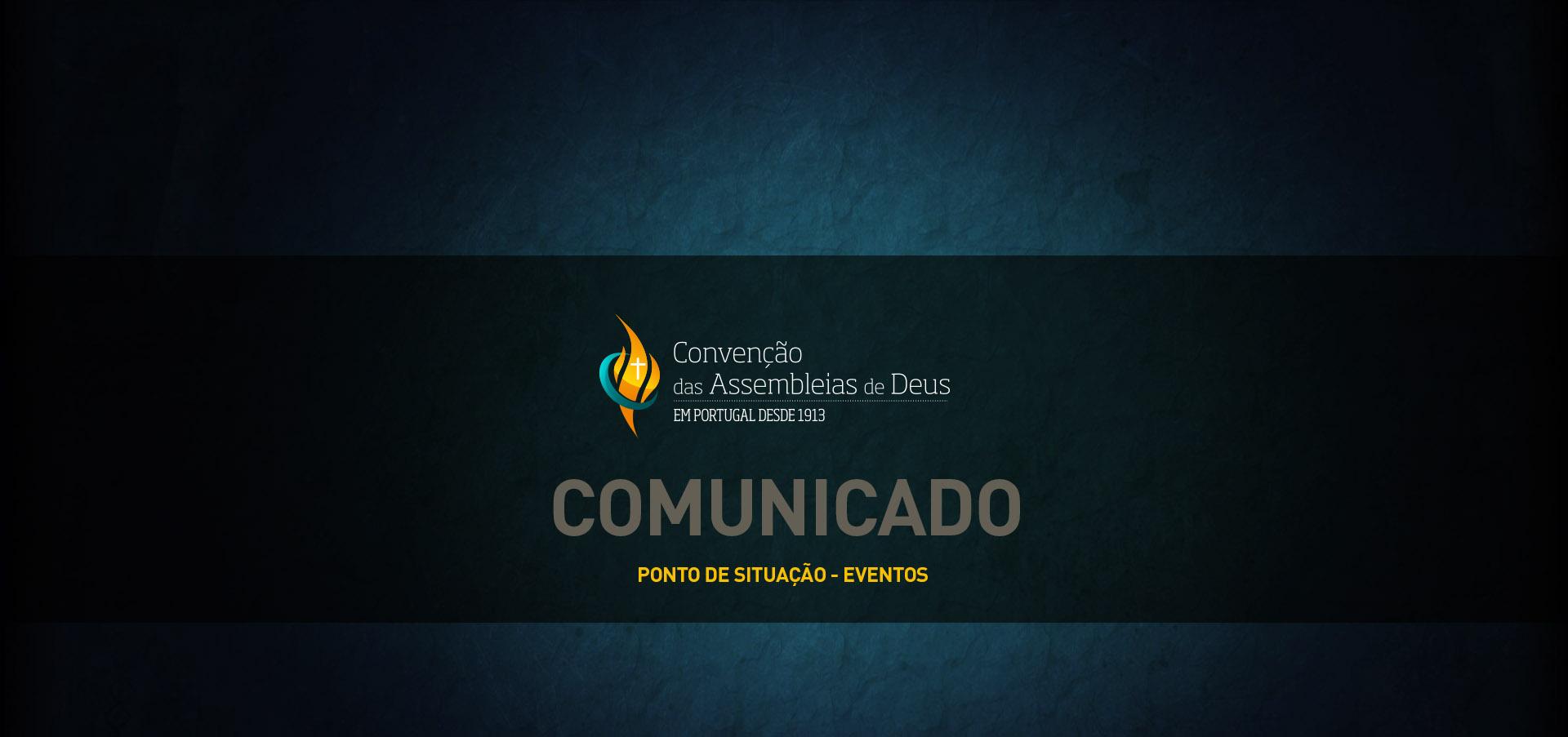 Comunicado – Eventos